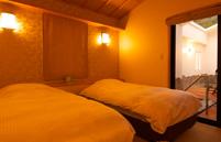 【写真】ベッドルーム|湯河原温泉旅館おんやど惠